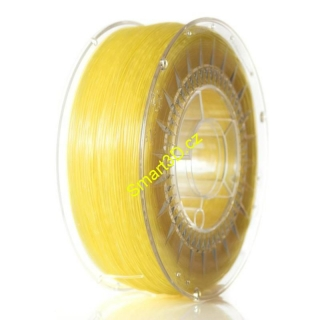 Filament DEVIL DESIGN / ABST / BRIGHT YELLOW TRANSPARENT / 1,75 mm / 1 kg.